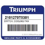 TRIUMPH Cooling Fan Switch OEM#  With O Ring